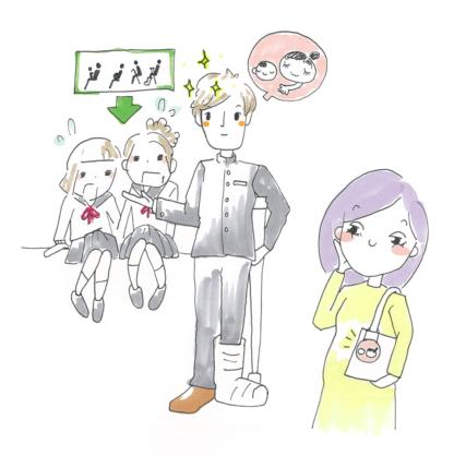とある妊婦の逆襲シリーズ〜絶対に電車の座席を譲らない女子高生〜