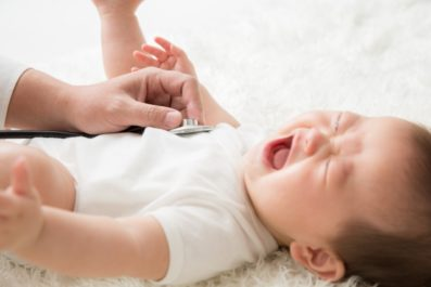 0歳児の突然の発熱。それって突発性発疹かも!